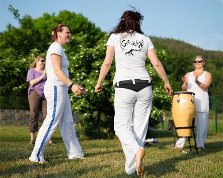 Abteilung Capoeira