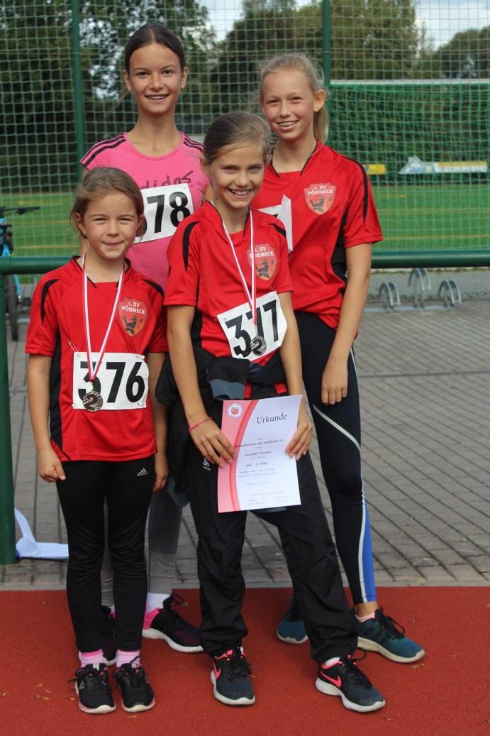 Gute sportliche Leistungen für Leichtathleten beim Bahnabschluss in Saalfeld