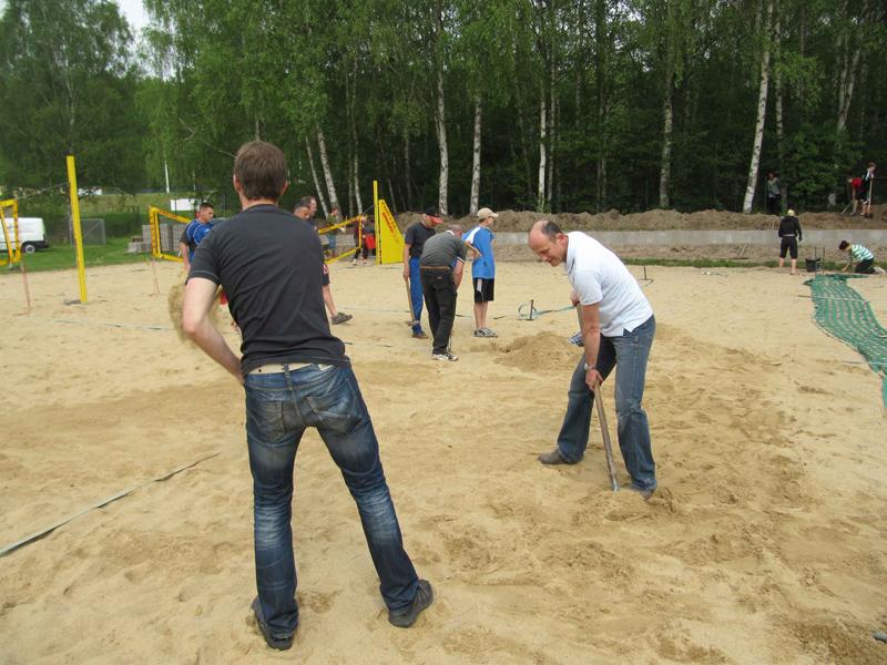 Fortuna eröffnet Beachsaison in RosenArena