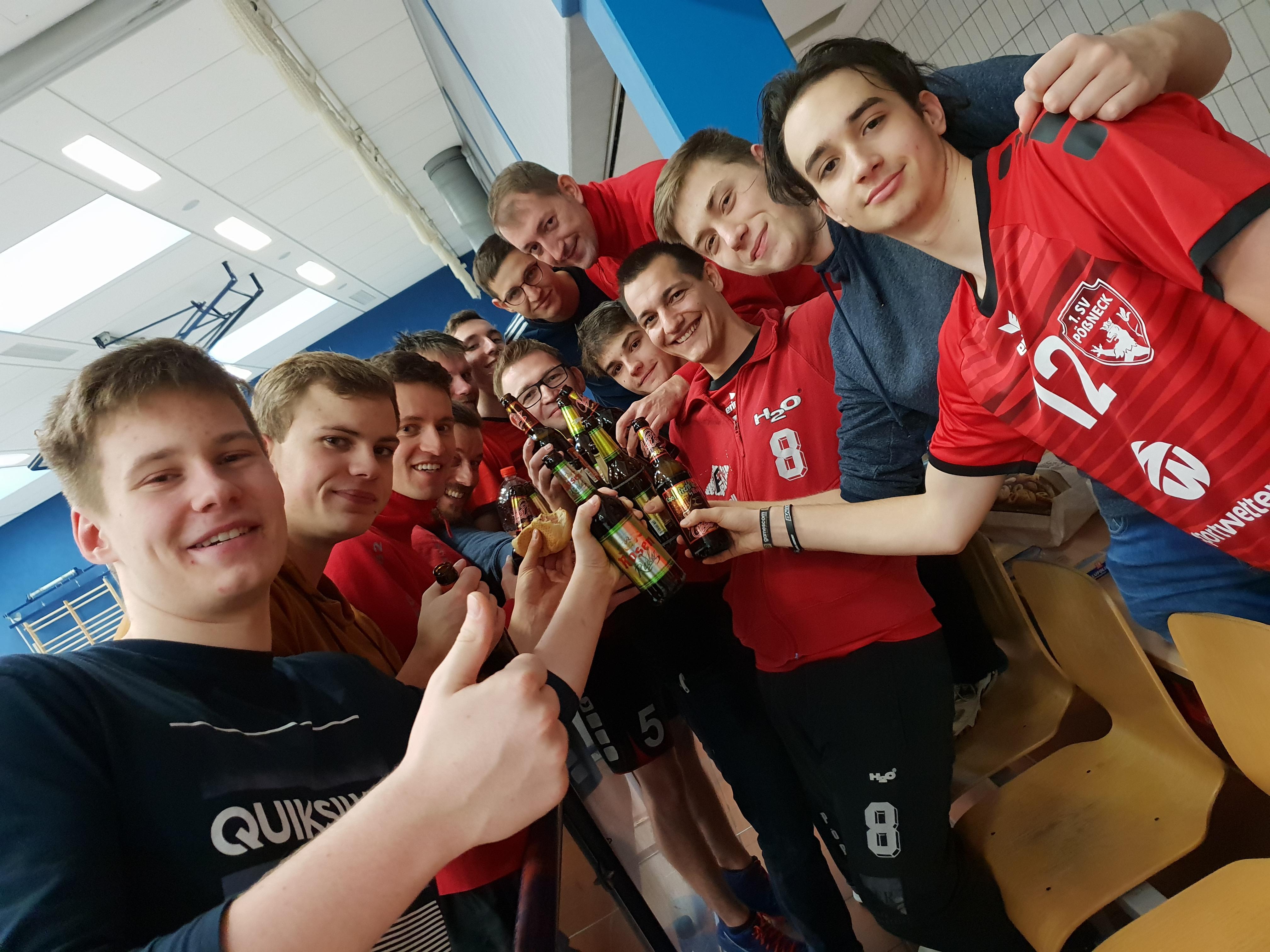 Bezirksliga Ost - Pöẞnecker Volleyballer demontieren Tabellenführer Tröbnitz mit einem klaren 3:0 Sieg