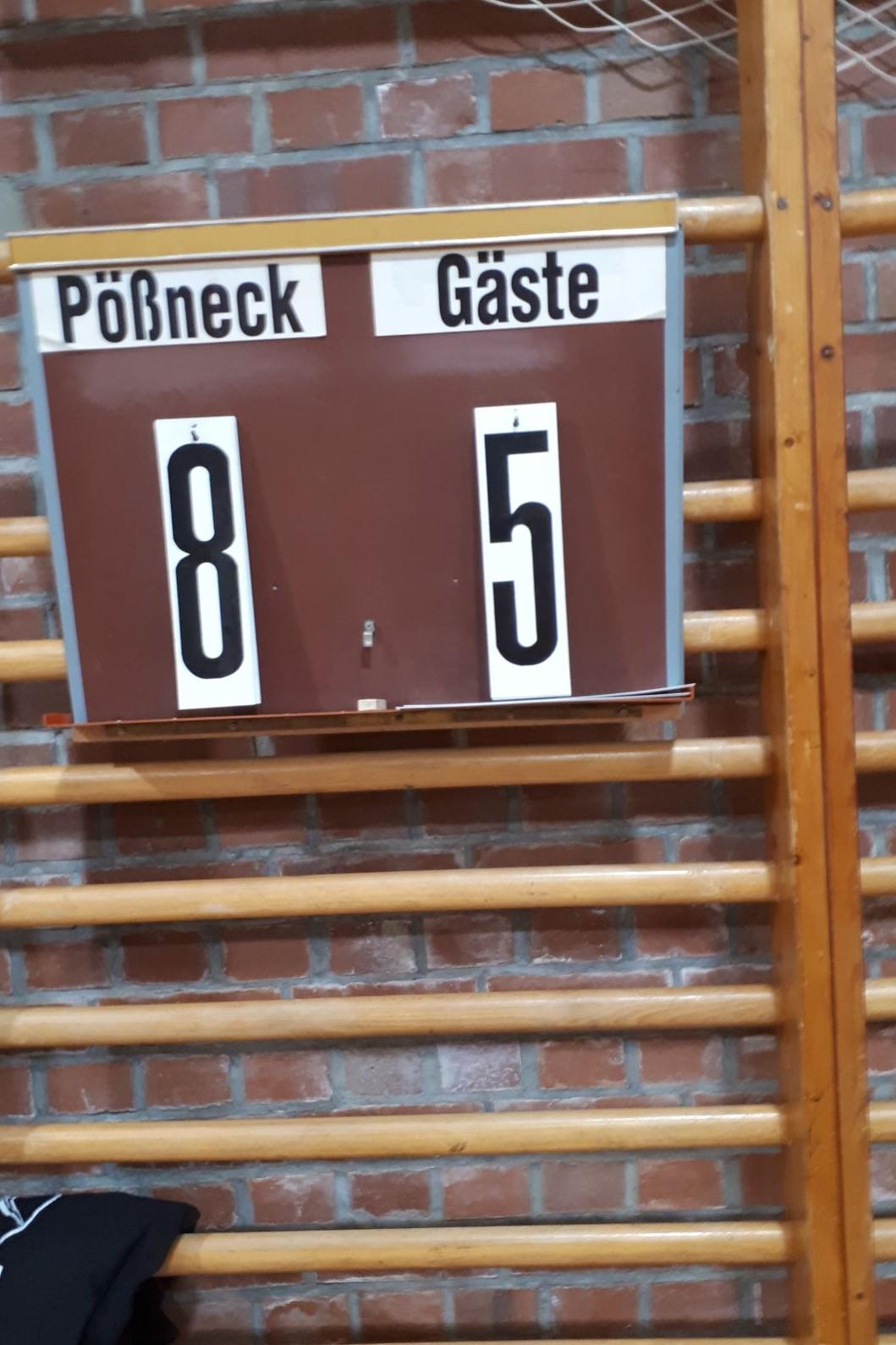 3.Mannschaft besiegt 4. knapp