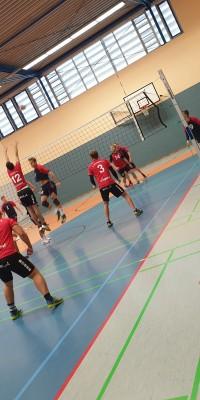 Pöẞnecker Volleyballer erkämpfen ihren ersten Sieg in der Verbandsliga Nord  - 20201010_110113_11601a8b5ea4a695f534f3961c8421b6