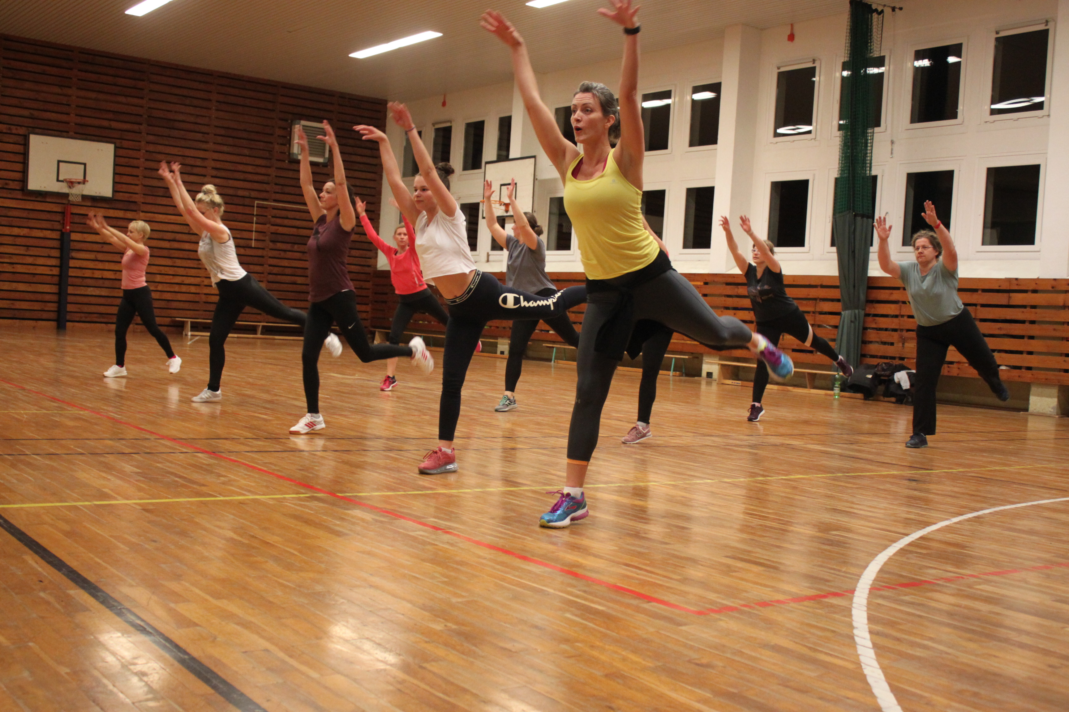 Neuer Aerobic-Kurs mit Susi Lother ab 2. September