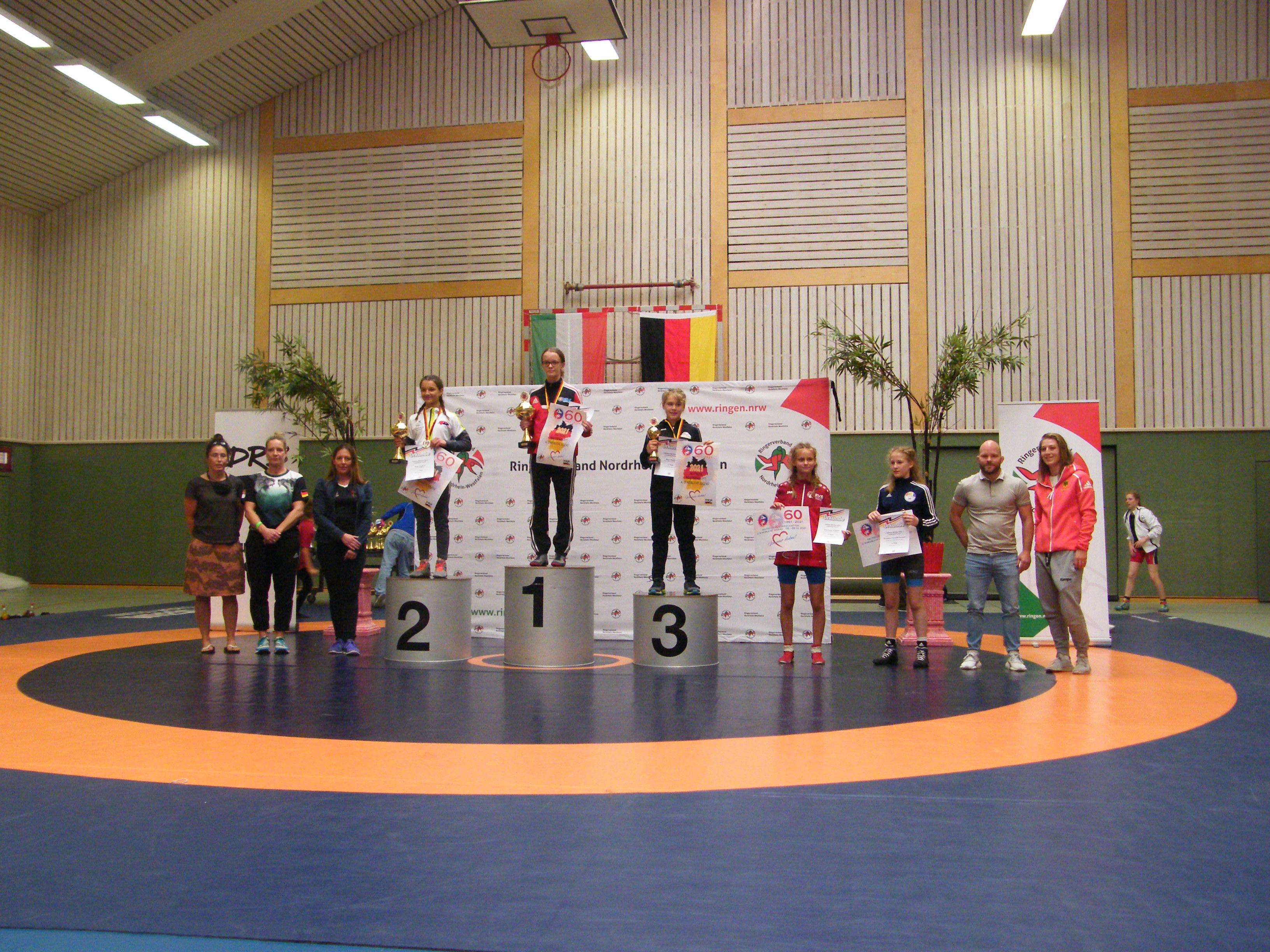 Josephine Wrensch wird Deutsche Meisterin 2021