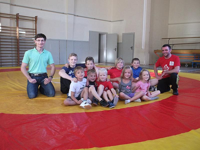 Ringen / Älteste Kampfsportart der Welt startet in Pößneck neu