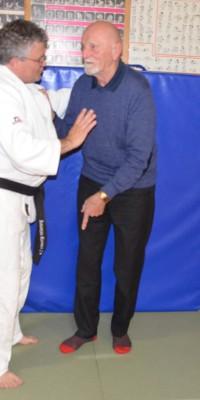 Pöẞnecker Judoka bekamen Besuch von einem Teilnehmer der ersten gesamtdeutschen Meisterschaften im Judo - DSC_5042_b40b0d223dfe961abc1df1831f574d5f