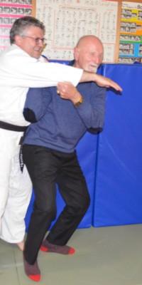 Pöẞnecker Judoka bekamen Besuch von einem Teilnehmer der ersten gesamtdeutschen Meisterschaften im Judo - DSC_5044_3ba95872d4baf4a13509d9bc7e2ac788
