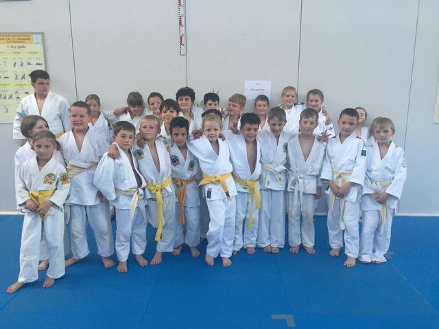 Kämpfer von Fortuna Pößneck und Judoka von der AWO Schloss Schule