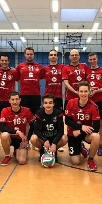 Pöẞnecker 1.Herrenvolleyballer belohnen sich in einer spielerisch konstant-starken Saison mit dem Meistertitel und dem Wiederaufstieg in die Verbandsliga - IMG-20200202-WA0019_4cab2ea54523ed447dd02f8208020581