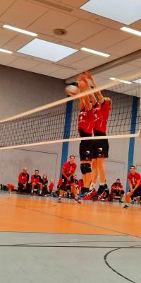 Da sind Parallelen: Pöẞnecker Volleyballer und die Bundestagswahl – oder: Erster Spieltag: Verbandsliga Nord startet für die Pöẞnecker Volleyballer mit einem Sieg - IMG-20211002-WA0007_8a4c129fb4ac3f5634daacfe1f8a9466