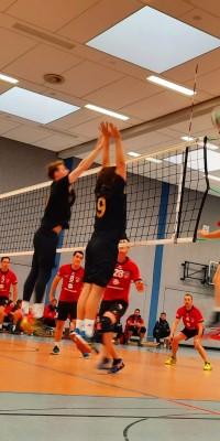Da sind Parallelen: Pöẞnecker Volleyballer und die Bundestagswahl – oder: Erster Spieltag: Verbandsliga Nord startet für die Pöẞnecker Volleyballer mit einem Sieg - IMG-20211002-WA0008_2cbf4f11485792ea51f480aaf391db81