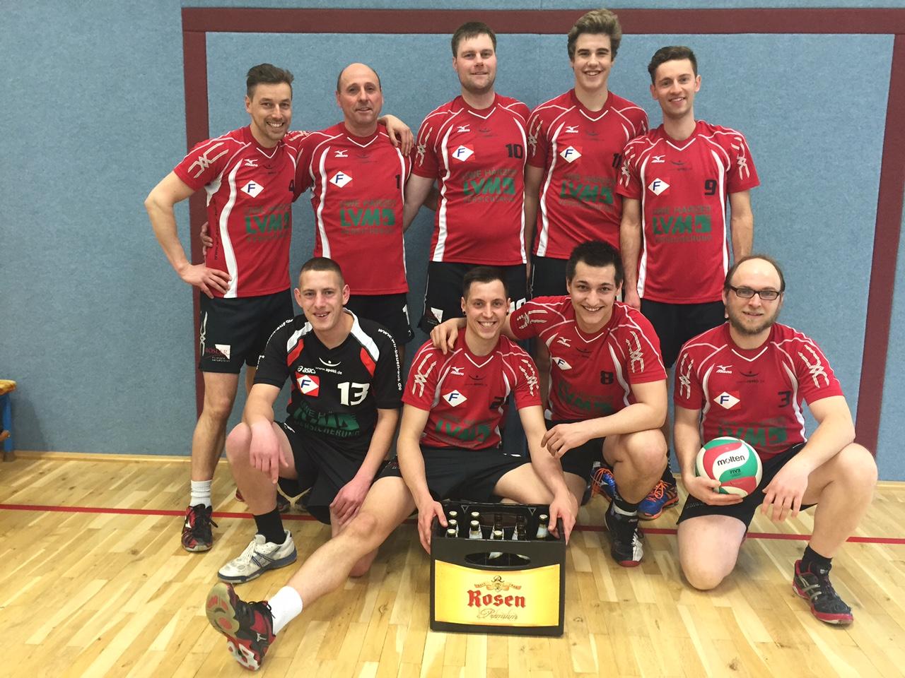 Fortuna-Volleyballer steigen in zweithöchste Liga Thüringens auf