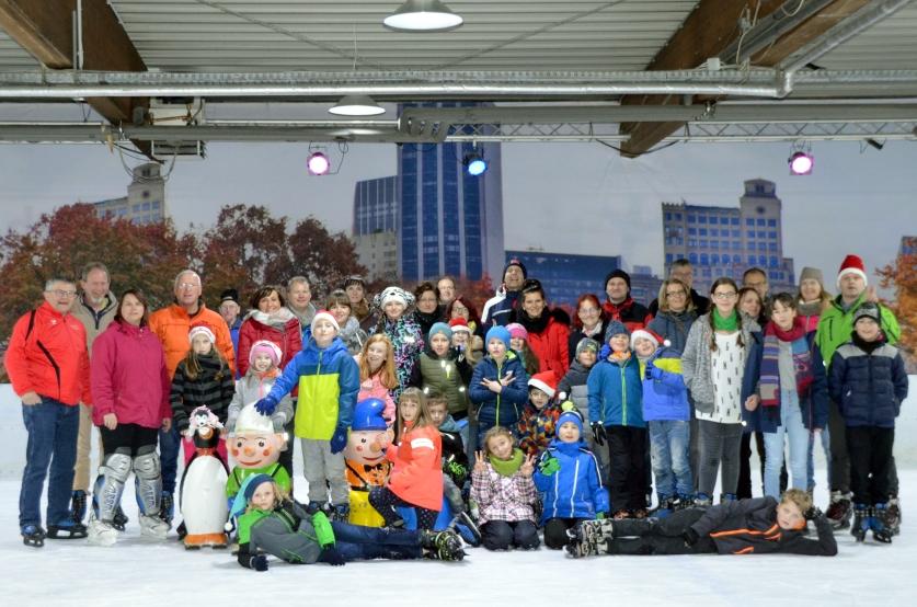 """Judoka des 1.SV Pöẞneck wagten sich zur Weihnachtsfeier aufs """"Glatteis"""""""
