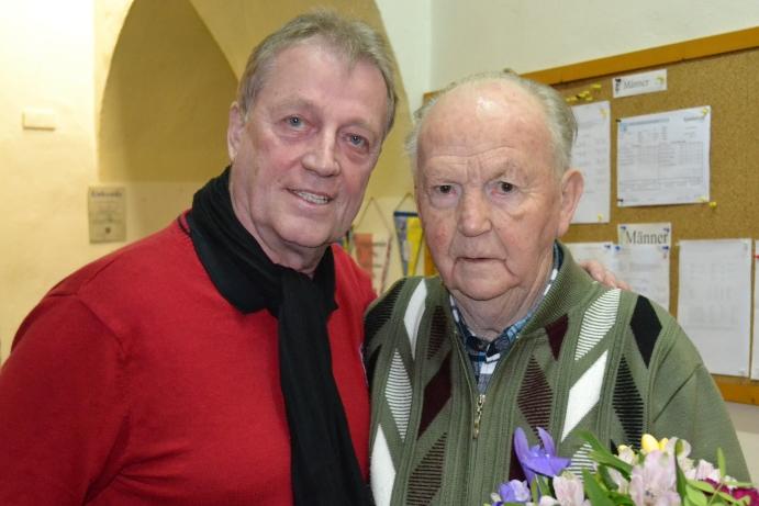 Glückwunsch zum 80. Geburtstag an Peter Leutholf