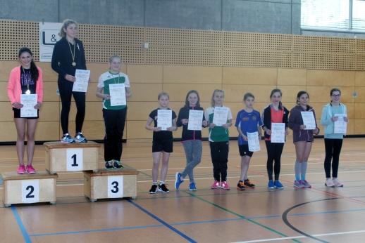 Gute Bilanz für Leichtathleten des 1. SV Pöẞneck bei den Hallenmehrkampfmeisterschaften am 10.03.18 in Neustadt (Orla)