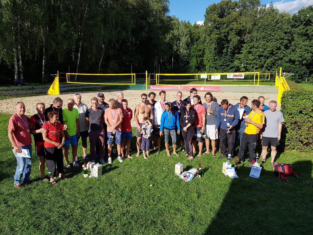 24. Rosenbrauerei-Cup/  17. Seniorenmeisterschaften Beach 2017