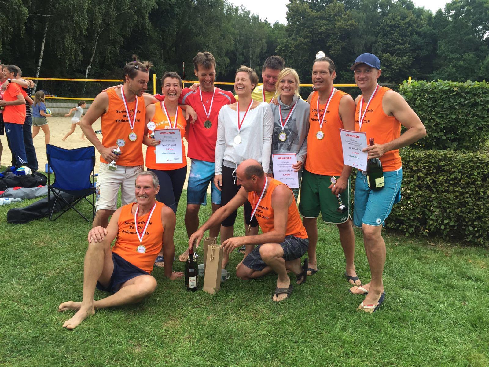 Teilnehmerrekord im Pößnecker Sand