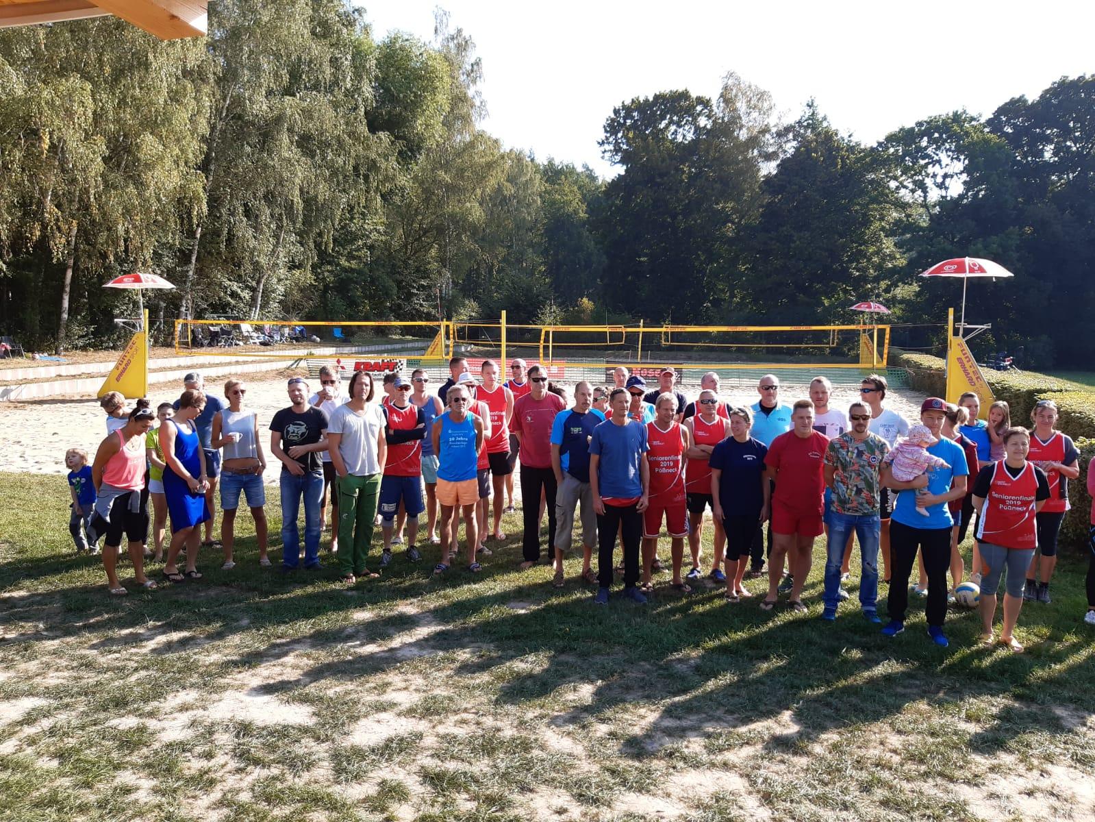 2x Bronze für die Pößnecker Gastgeber bei der stark besetzten Thüringer Seniorenmeisterschaft im Beachvolleyball in der Rosen-Arena